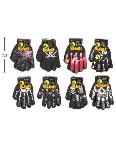 Halloween Kid's Knitted Magic Gloves