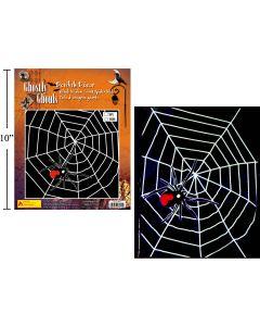 5' Giant Spider Web w/Black Widow