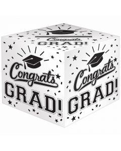 Grad Greeting Card Box Holder ~ Congrats Grad