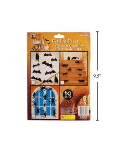 Halloween Silhouette Decorations ~10 pieces