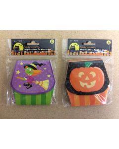 Halloween Magnetic Memo Pad w/Glitter