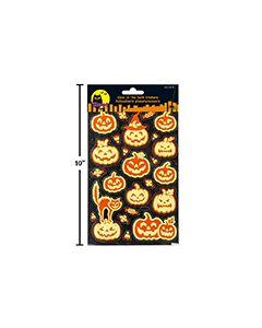 Halloween Glow-In-The-Dark Stickers