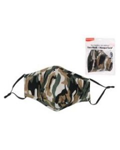 Adult Size Cloth Face Mask - 3 Layer ~ Camo