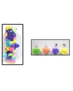 Bath Puff with Suction Cup ~ 50 gram