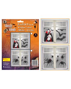 Halloween Window Posters ~ 2 per pack