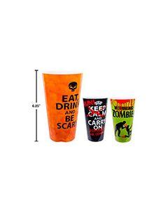 Halloween Plastic Cup ~ 500ml