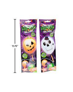 Halloween LED Blow & Glow Balloon