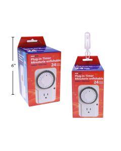 Plug-In Indoor Timer ~ 24 hours