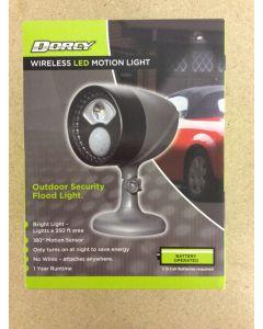 Dorcy Wireless LED Motion Sensor Flood Light