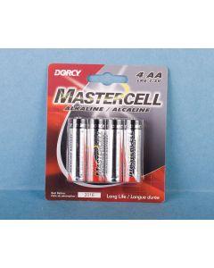 """Dorcy Alkaline """"AA"""" Battery ~ 4/pk"""