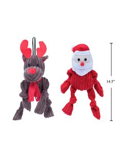 """Christmas Pet Toy with Squeaker ~ 13.75"""""""