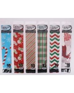 Christmas Printed Tissue Paper ~ 10 per pack