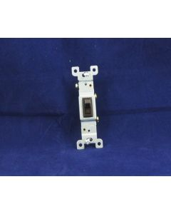 Single Pole Switch ~ Brown