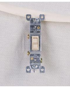 Single Pole Switch ~ Ivory