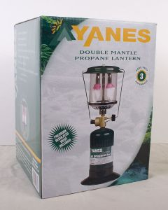 Yanes Double Mantle Propane Lantern ~ 300W
