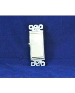 Decorative Single Pole Switch ~ Ivory