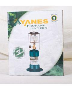 Yanes Single Mantle Propane Lantern ~ 100W
