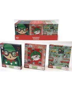 Christmas Kids Puzzles ~ 100 pieces