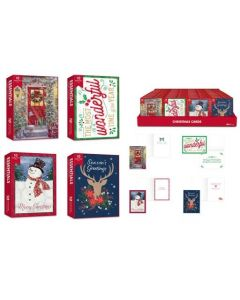 Christmas Cards - Traditional ~ 10 per pack