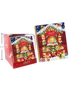 Christmas Lindt Assorted Chocolates Advent Calendar ~ 128gram