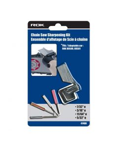 ROK Chain Saw Sharpening Kit
