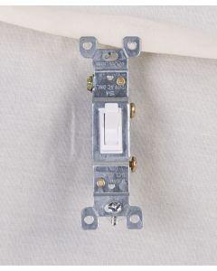 Single Pole Switch ~ White