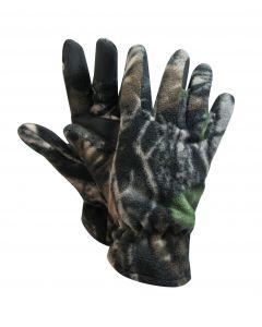 Camo Polar Fleece Gloves