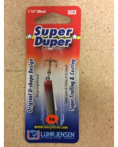 Super Duper Lure 503 Series ~ Silver Shad