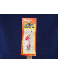 Vibric Rooster Tail - 1/8oz ~ Rainbow Mylar