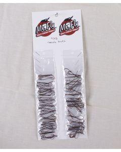 Mr Fly Carlisle Hooks - Large, 6 per pack ~ 24 packs per card