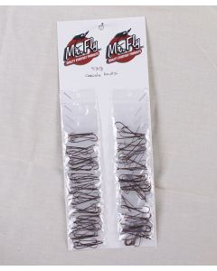 Mr Fly Carlisle Hooks ~ Small, 6 per pack ~ 24 packs per card