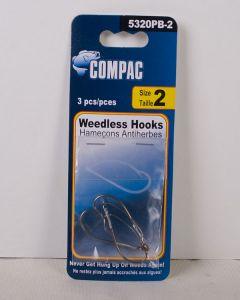 Compac Weedless Hooks