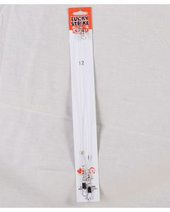 """Lucky Strike Stainless Steel High Test Leaders ~ 12"""""""
