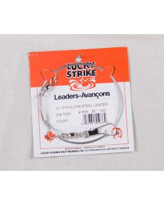 """Lucky Strike Stainless Steel High Test Leaders ~ 24"""""""