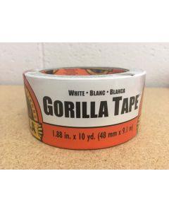 "Gorilla White Tape ~ 1.88"" x 10yds"