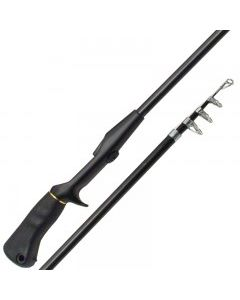 Emery Telescopic Spincast Rod, 6' ~ 6 sections