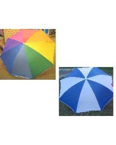 "Beach Umbrella w/Tilt ~ 36"" x 8 ribs"