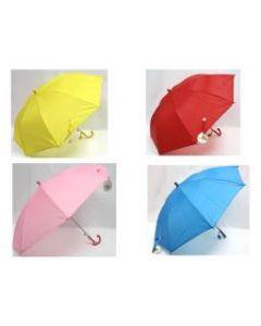 "Kid's Umbrella with Whistle ~ 17-1/2"" x 8 ribs"