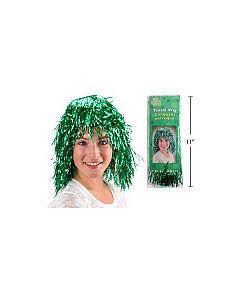 St. Patrick's Day Tinsel Wig