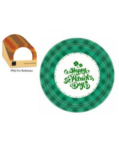 """St. Patrick's Day Paper Plate - 9"""" Dia ~ 8 per pack"""