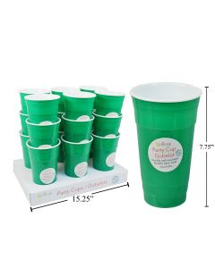 St. Patrick's Day Green Double Wall Insulated Tumbler ~ 32oz