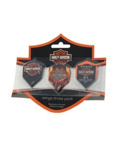 Harley Davidson Flights ~ Tri-Pack
