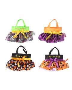 "Halloween Skirt Mini Trick or Treat Bag ~ 14"" x 8.5"""