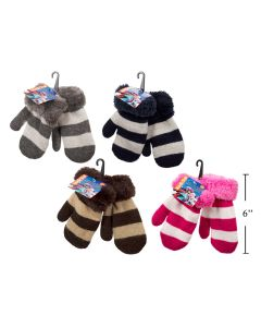 Kid's Mittens with Insulated Lining