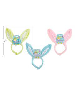 "Easter 11"" Plush Bunny Ears Headband"