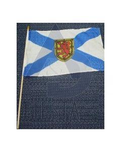 "Nova Scotia Flag on Stick ~ 12"" x 18"""