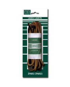 """Brown Leather Boot Laces ~ 72"""""""