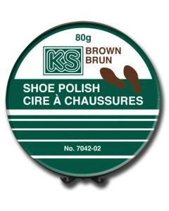 Shoe Polish - Wax ~ Brown