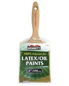"""Bennett Latex/Oil Paint Brush ~ 4"""" / 100MM"""