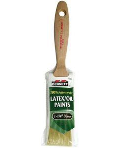 """Bennett Latex/Oil Paint Brush ~ 1-1/4""""/30mm"""